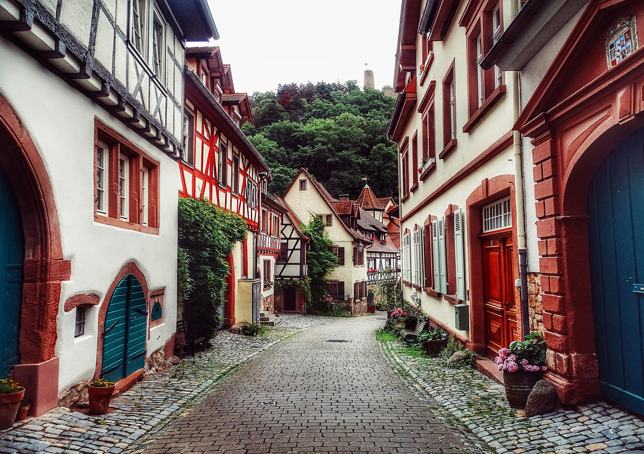 Walk in the old town
