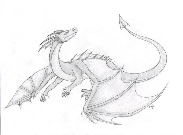 Flying dragon by wyvernflames on deviantart flying dragon by wyvernflames ccuart Image collections