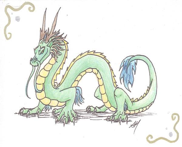 Eastern Dragon Card Design By WyvernFlames On DeviantArt