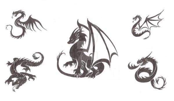 Dragon Tattoo Designs by WyvernFlames on DeviantArt