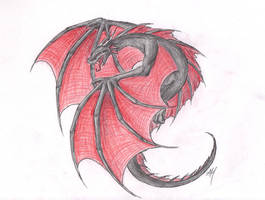 Sporting Red and Black by WyvernFlames