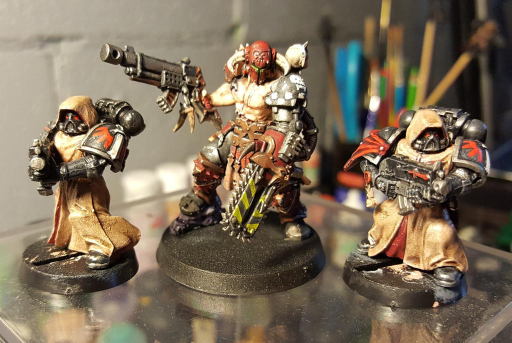 Converted Slaughterpriest and fallen by evldemon