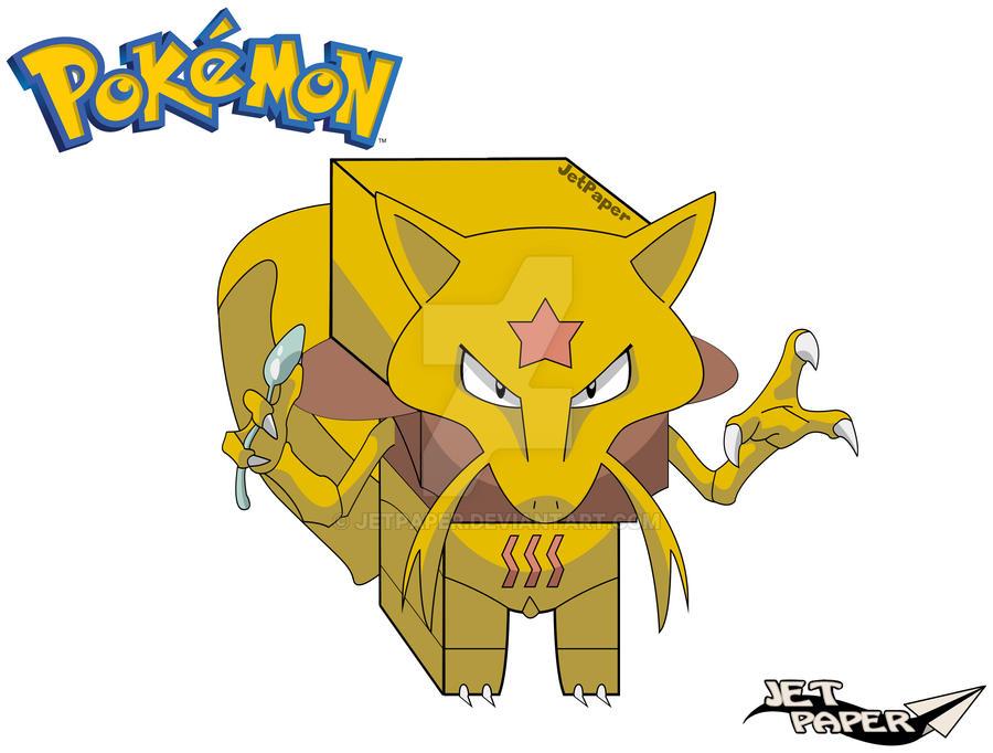 Kadabra 3d Pokemon 636067611