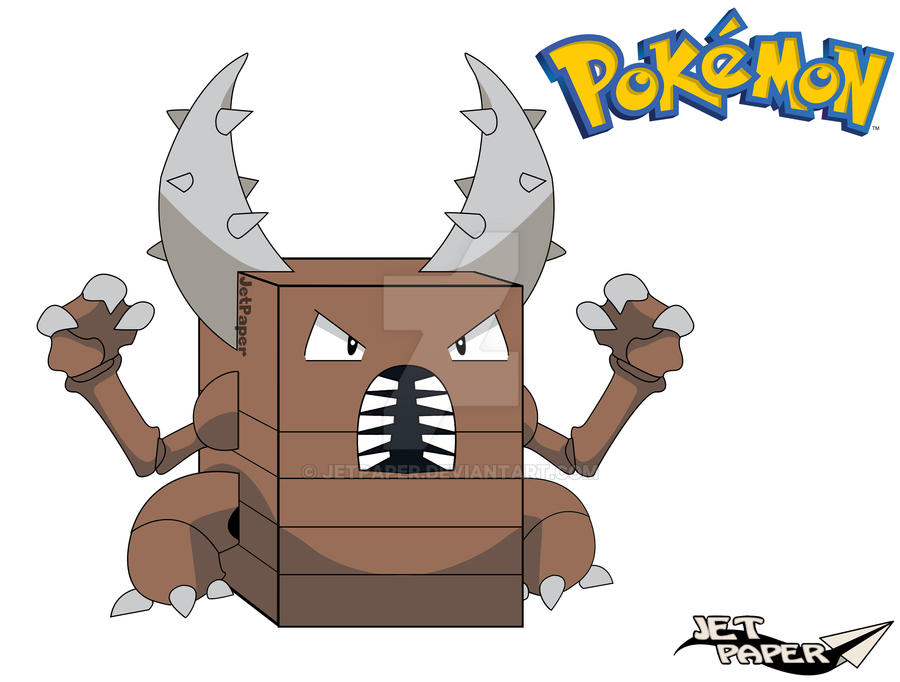 Pinsir 3D [POKEMON] by JetPaper on DeviantArt