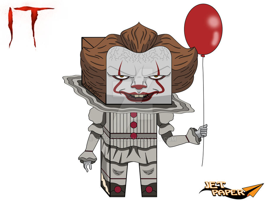 Pennywise Paper Craft