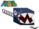 Chain Chomp 3D [SUPER MARIO] by JetPaper
