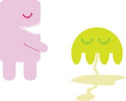 monster pee by NicoleWKonigs