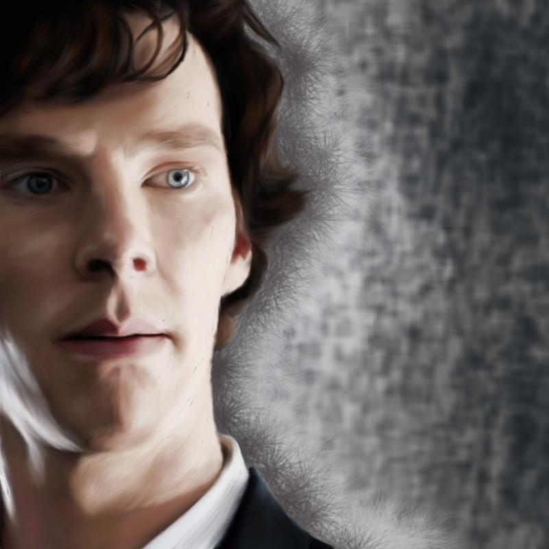 Sherlock Holmes by Nadia-Ch