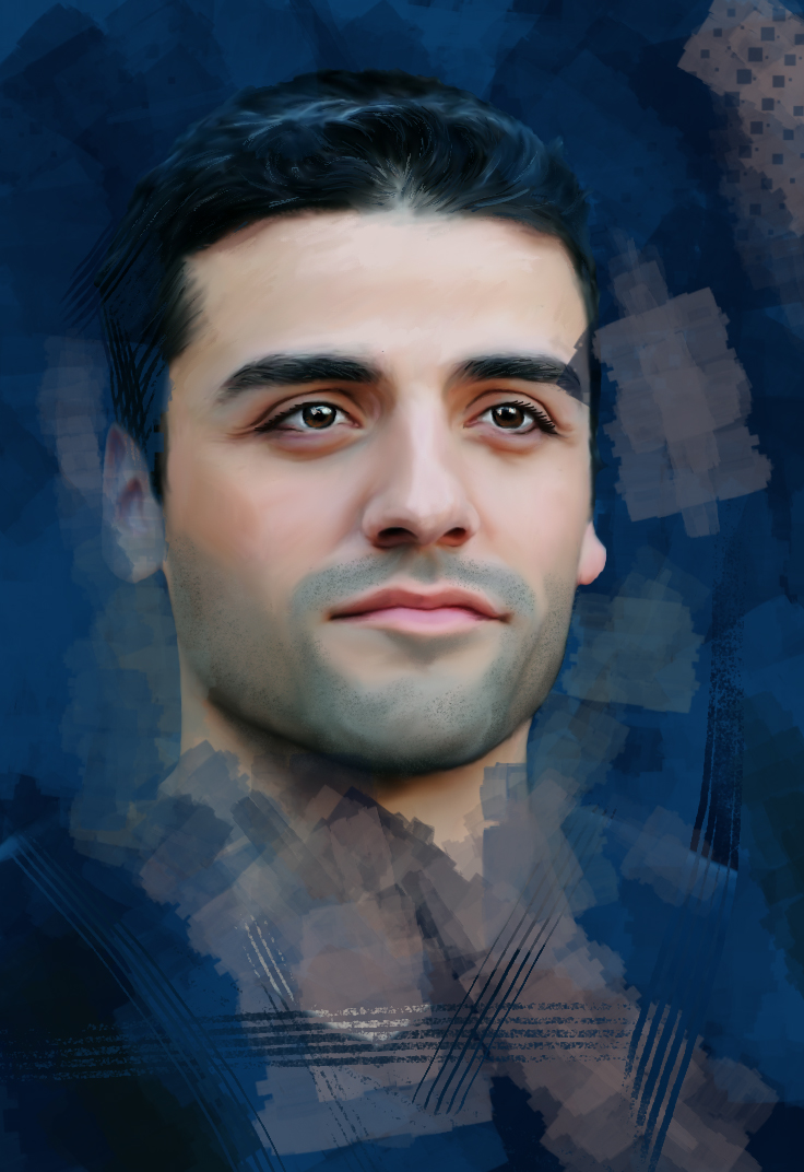 Oscar Isaac by Nadia-Ch