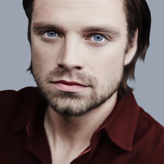 Sebastian Stan by Nadia-Ch