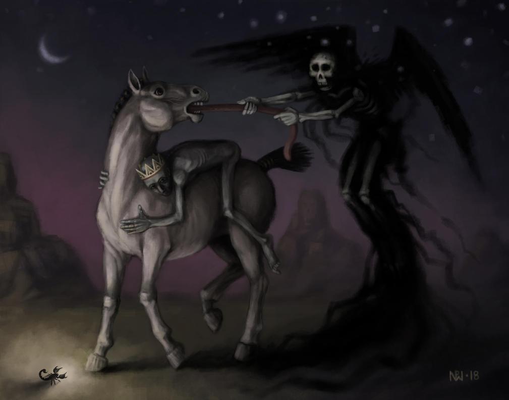Dusk in the Desert by nilwill