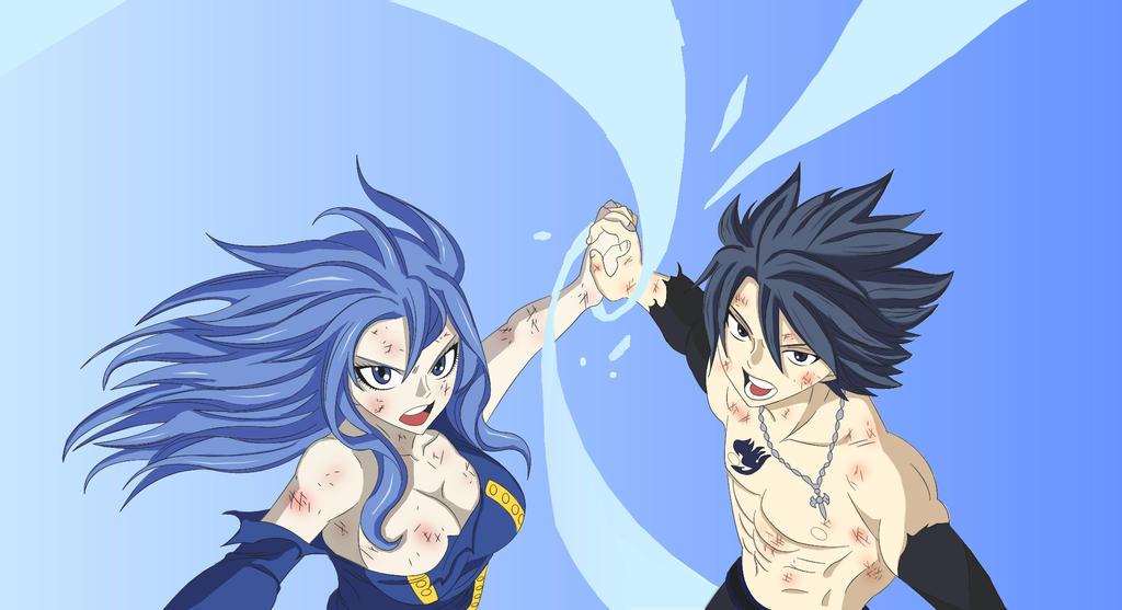 Gray y Juvia - Fairy Tail 322 by Andrea2ce on DeviantArt