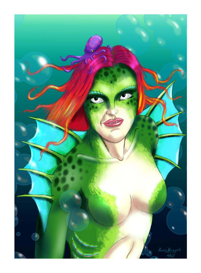 Mermaid FF by Haggard-Kevin