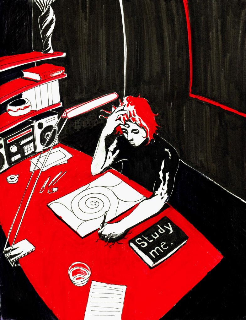 Study Me by spudfx