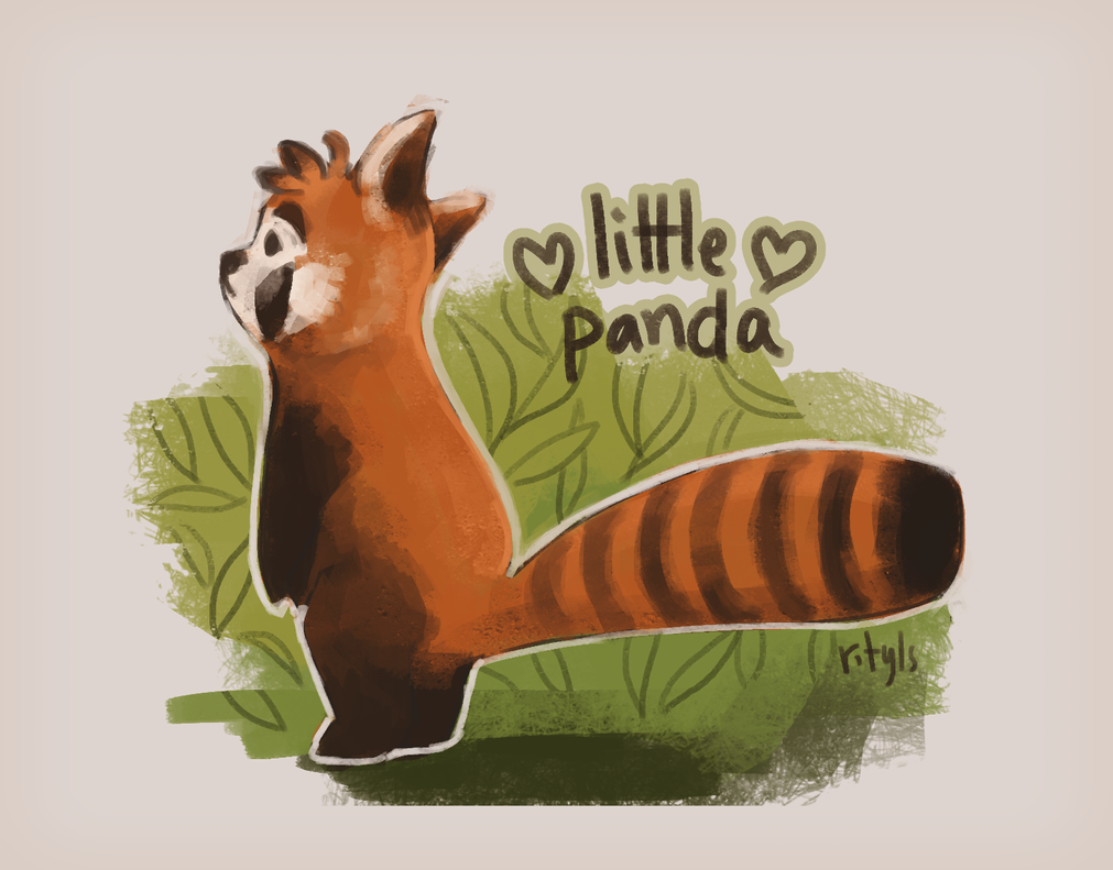 little panda by racheltylsa