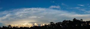 Summer Skies: Moonrise