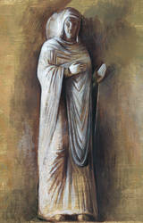 Maria (on Relief from an Italian Church). 2004 by Yudaev