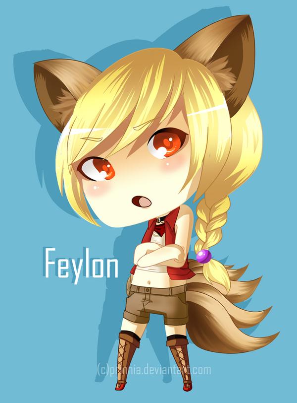 Chibi Feylon by Prinnia