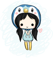 chibi - Piplup by linkitty