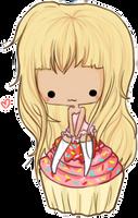 cupcake by linkitty
