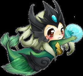 Chibi Nami - League of Legends