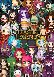 League of Legends chibis