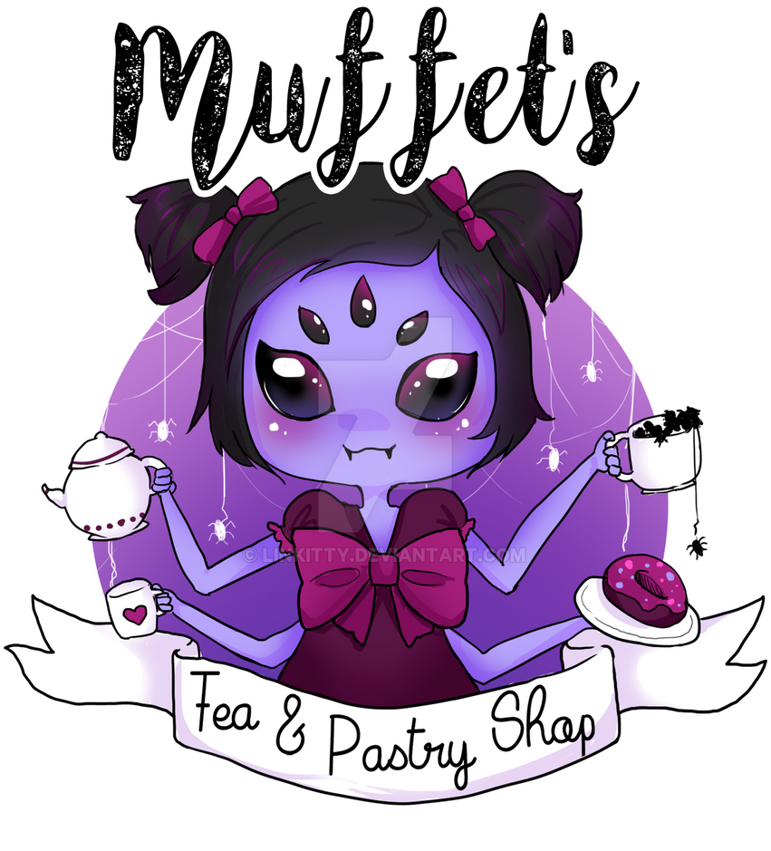 Muffet's tea and pastry by linkitty