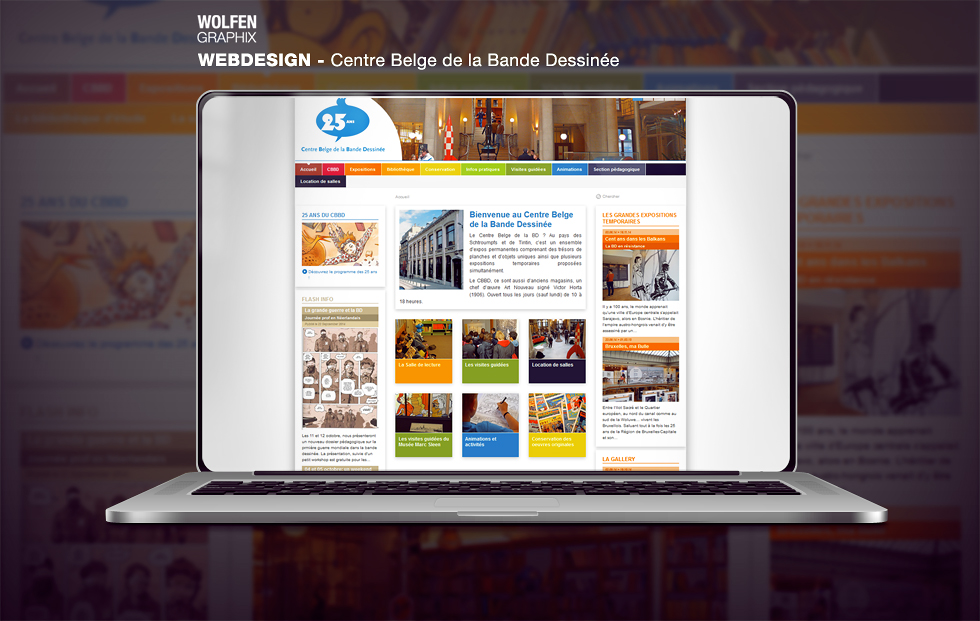 wolfen webdesign by wolfen-graphix