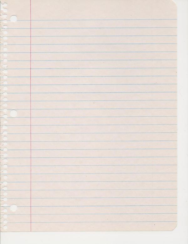 Notebook Paper by vrhmq7 on DeviantArt