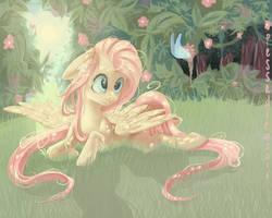 Fluttershy by Pessadie