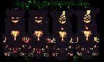 Halloween Pixel Demon by demonyes