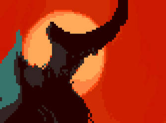 demon arsing Pixel Art by demonyes
