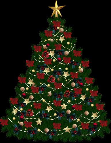 Arbol de navidad png by juli2000 on deviantart - Fotos de arboles de navidad decorados ...
