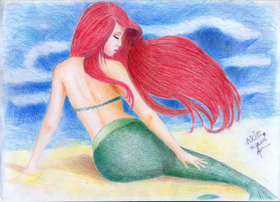 Ariel Disney Princess By Amandabloom On Deviantart Disney Princess Ariel Drawings