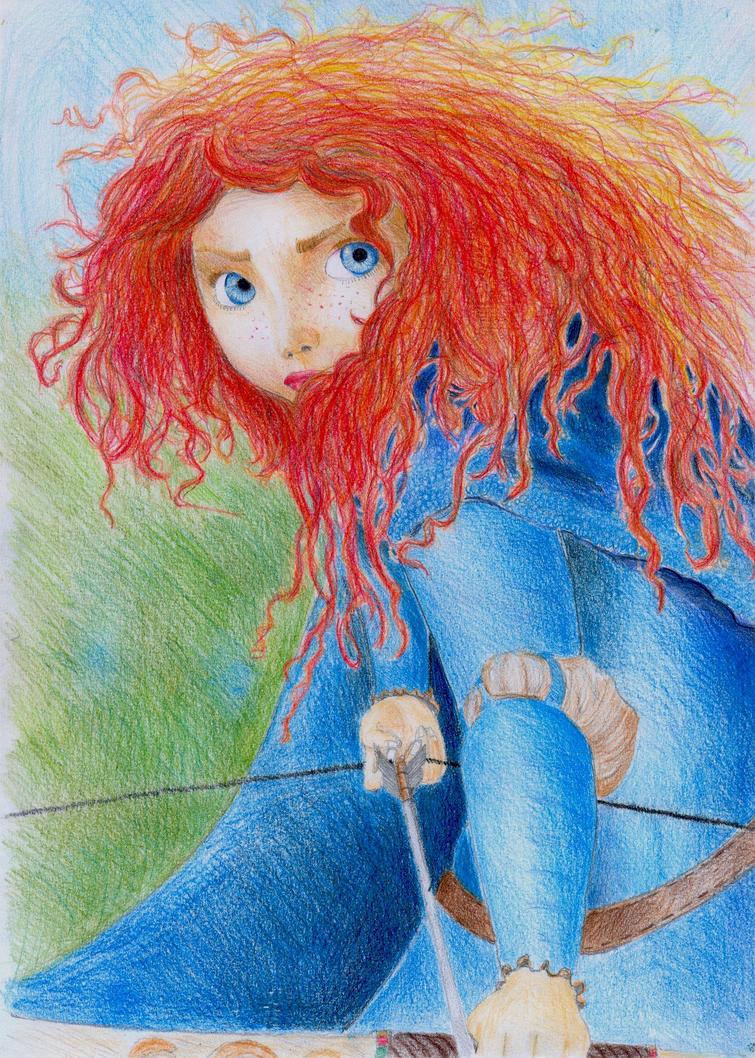 Uncategorized Merida Drawings princess merida from brave by amandabloom on deviantart amandabloom