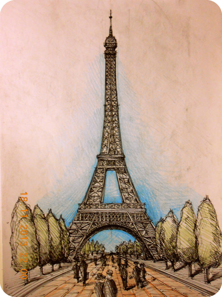 Eiffel tower paris by amandabloom on deviantart eiffel tower paris by amandabloom thecheapjerseys Choice Image