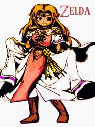 Zelda Is Her Name :) by MANGAMASTERJM
