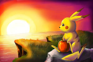 25. Pikachu by Porkkish