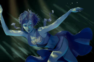 Lapis Lazuli [+SPEEDPAINT] by scruuffy