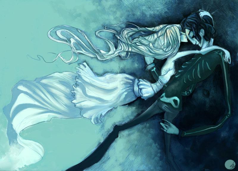 Winter's kiss by Midnight-cat