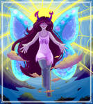 Blessed pink Vriska by Wow-A-Dog
