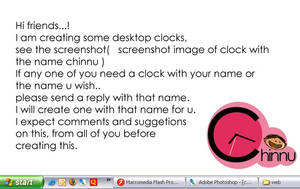 named clock by anoop-pc