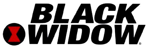 Black widow logo wallpaper - photo#16