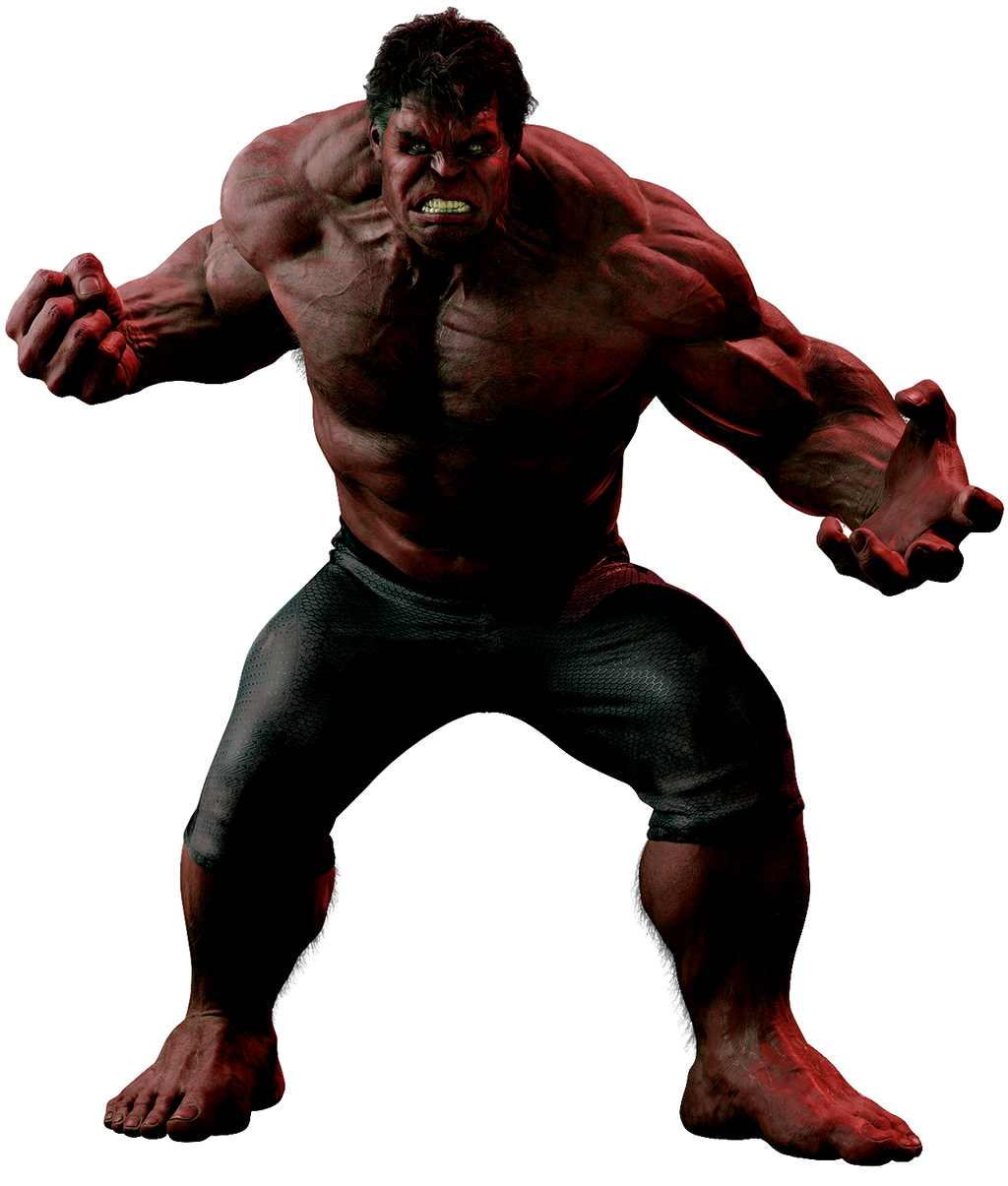 Red Hulk by cptcommunist on DeviantArt