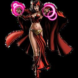 Transian Scarlet Witch Portrait Art by cptcommunist