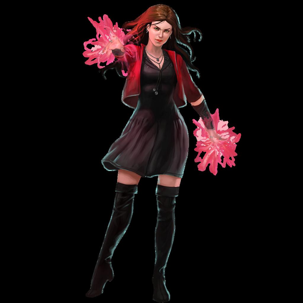 Scarlet Witch by cptcommunist on DeviantArt