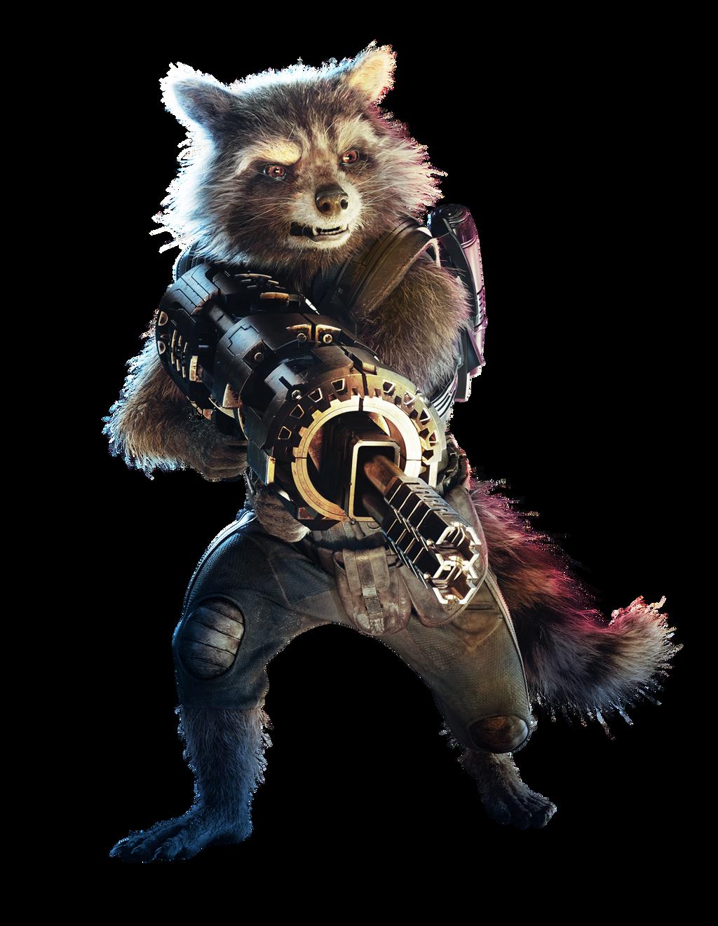 Star Lord And Rocket Raccoon By Timothygreenii On Deviantart: Rocket By Cptcommunist On DeviantArt