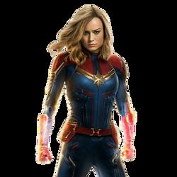 Captain Marvel by cptcommunist