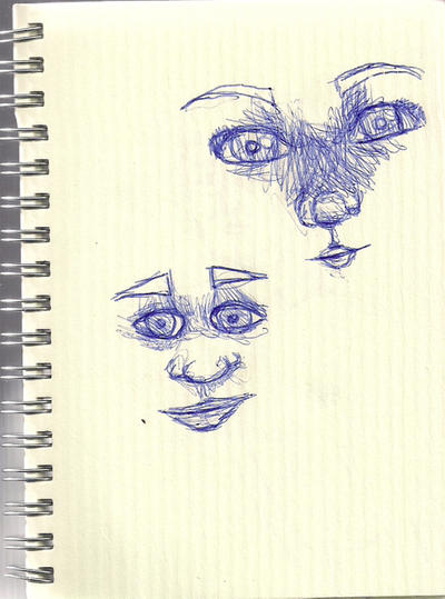 faces by kertenleda