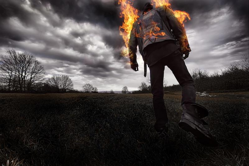 Flames Of Hate II by dorukseymen
